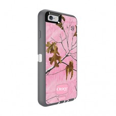 iPhone 6s Otterbox Defender Realtree Camo Pink/Grey