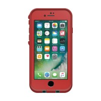 iPhone 7 Lifeproof frē Case Red