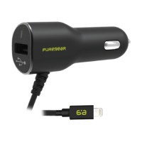 PureGear Lightning Vehicle Power Adapter