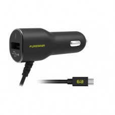 PureGear Micro USB Vehicle Power Adapter