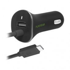 PureGear USB-C Vehicle Power Adapter